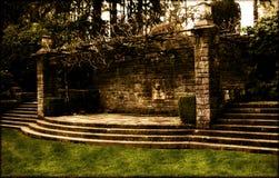 ściana ogrodowa Obrazy Royalty Free