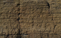 Ściana piaskowiec Zdjęcia Stock