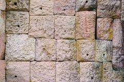 ściana przy kasztelem Fotografia Royalty Free