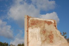 Ściana ruina Obraz Royalty Free