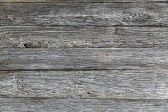 Ściana stare krakingowe deski horyzontalne zdjęcia royalty free