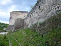 Ściana Turecki bastion w Kamenetz-Podolsk obrazy stock