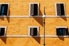 Ściana w Rzym Obrazy Stock