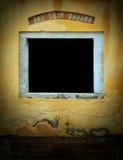 ściana weathersa żółty Fotografia Stock