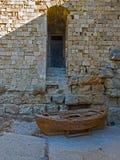 Ściana z drzwi w niszie Zdjęcie Stock