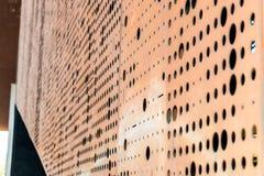 Ściana z dziurami Zdjęcia Stock
