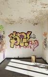 Ściana z graffiti Obraz Royalty Free
