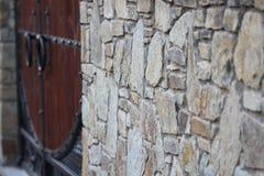 Ściana z starym kamieniarstwem Zdjęcie Royalty Free