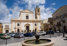 Cianciana,Sicily, Italy Royalty Free Stock Photography
