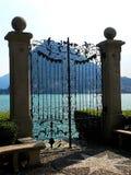 Ciani-Landhaus in Lugano Stockfotos