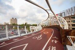 Cianjhen cykelbrud Arkivfoto