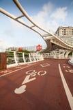 Cianjhen cykelbrud Fotografering för Bildbyråer