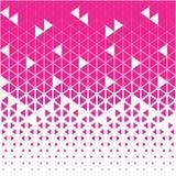 Ciano e del triangolo modello grafico bianco del poligono astratto Fotografia Stock