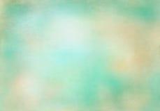 Ciano retro fondo beige di vecchio stile Immagine Stock