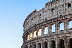 Ściany antyczny rzymski amphitheatre kolosseum Obraz Stock