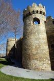 Ściany Baku zdjęcie stock