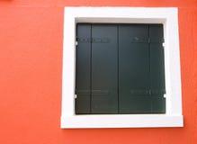 Ściany Burano, Wenecja Zdjęcie Royalty Free