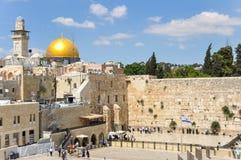 ściany jerusalem western zdjęcie royalty free