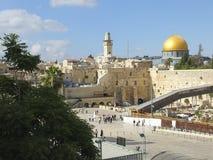 ściany jerusalem western Obraz Royalty Free