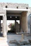 Ściany Pompeii Obraz Royalty Free