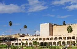 Ściany stary Medina w Meknes Zdjęcie Royalty Free
