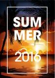 Ciao aletta di filatoio del partito della spiaggia di estate Fotografie Stock Libere da Diritti