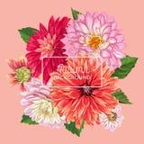 Ciao Autumn Watercolor Floral Design con la foglia di acero Insegna stagionale di caduta, manifesto, stampa, vendita, modello di  royalty illustrazione gratis