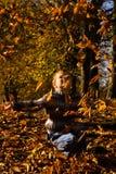 Ciao, autunno!!! Fotografie Stock Libere da Diritti
