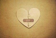 Ciao il cuore Fotografie Stock