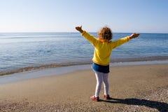 Ciao il mare! fotografie stock