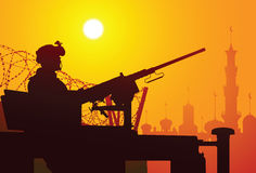 Ciao, l'Iraq! Fotografie Stock