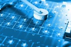 Ciao linea di montaggio di tecnologia Immagini Stock Libere da Diritti
