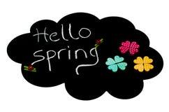 Ciao primavera Immagine Stock Libera da Diritti