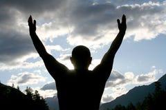 Ciao, SUN! Fotografia Stock Libera da Diritti