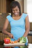 ciapania warzyw kobieta Fotografia Stock