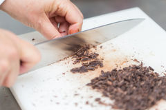 Ciapanie czekolada Obraz Stock