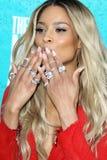 Ciara arriving at the 2012 MTV Movie Awards Royalty Free Stock Image