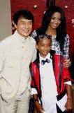 Ciara, Jackie Chan och Jaden Smith Royaltyfria Bilder
