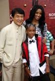 Ciara, Jackie Chan och Jaden Smith Royaltyfri Foto