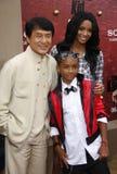 Ciara, Jackie Chan och Jaden Smith Arkivfoto