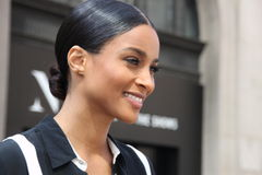 Ciara, new york fashionweek,spring 2016 Stock Photos