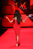 Ciara walks the runway at the Go Red For Women Red Dress Collection 2015 Stock Image