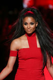 Ciara walks the runway at the Go Red For Women Red Dress Collection 2015 Stock Photo