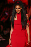 Ciara walks the runway at the Go Red For Women Red Dress Collection 2015 Stock Photos