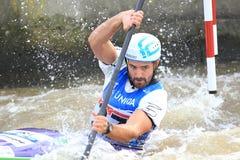 Ciaran Heurteau - чемпионат мира слалома воды Стоковые Фото