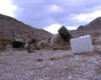 Ciarpame del deserto Fotografie Stock