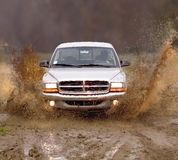 ciężarówka błoto Zdjęcia Stock