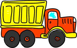 ciężarówka wysypisko Obraz Stock