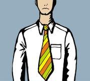 ciasna krawat praca zbyt ilustracji