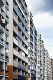 Kolorowy Wschodni Berlin blok Zdjęcia Royalty Free